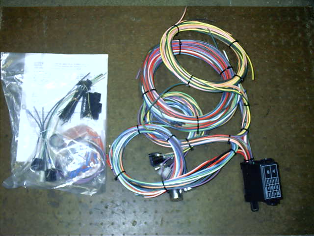 electrical gauges and switches ez wire harness